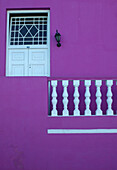 House in the Bo-Kaap residential area, Cape Town, Western Cape, South Africa