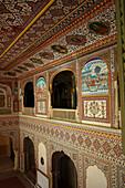 The Samode Palace, Durbar Hall, Samode, Rajasthan, India