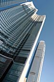 Four Seasons Hotel & 2 International Finance Centre, Hong Kong Island, Hong Kong, China