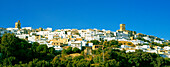 Townscape with churchtowers, Arcos de la Frontera, Andalucia, Spain