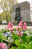 Monument to the Heroes of the Ghetto, Warsaw, Poland