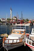 Harbour scene, Turgutreis, Aegean, Turkey