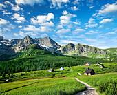 Gasienicowa Valley, Tatra Mountains, Zakopane, Poland