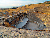 Hierapolis, the Roman Theatre, Pamukkale, Aegean, Turkey