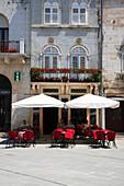 Cafe scene, Pula, Istria, Croatia