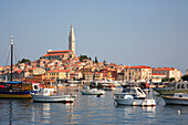 Harbour and old town, Rovinj, Istria, Croatia
