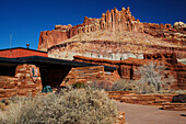 The Visitor Centre, Capitol Reef National Park, Utah, USA