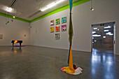 Deserted art exhibition at the museum at the arts centre, Santa Cruz de Tenerife, Tenerife, Canary Islands, Spain, Europe
