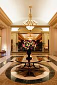 Fairmont Hotel, Lobby, Vancouver City, Canada, North America