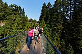 Lynn Canyon, Capilano Suspension Bridge, Vancouver, Canada, North America