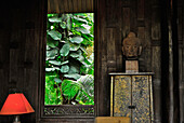 Veranda at Jim Thompson House, Museum, Bangkok, Thailand, Asia