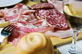 Cold meats, Udine, Friuli-Venezia Giulia, Italy