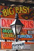 An evening on Bourbon street, French Quarter, New Orleans, Louisiana, USA