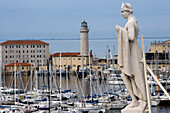 Marina in Trieste, Friuli-Venezia Giulia, Upper Italy, Italy