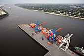 Container gantry crane, Port of Hamburg, Germany
