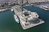 World Trade Center,  port of Barcelona. Catalonia,  Spain