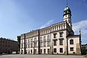 Kazimierz historic district, Wolnica Square, Etnographic Museum, former Jewish Quarter, Cracow,  Krakow, Poland