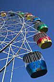 Australia - New South Wales (NSW) - North Sydney: Luna Park Amusement Park at Milsons Point,  Ferris Wheel