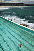 Australia - New South Wales (NSW) - Sydney: World famous Bondi Beach - View of the Bondi Icebergs Swimming Club Pool