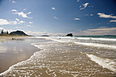 Bay, Beach, Color, Colour, Maunganui, New Zealand, North island, Plenty, Travel, Travels, World locations, World travel, F57-871937, agefotostock