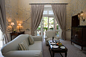 Living Room of Churchill Suite at Reid's Palace Hotel, Funchal, Madeira, Portugal