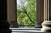 Apollotempel, Schlosspark Nymphenburg, München, Bayern, Deutschland
