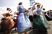 May dance, Munsing, Bavaria, Germany