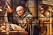 Dom Bernardo Vincelli, Monk Of The Holy Trinity Abbey Of Fecamp, Inventor Of The Recipe For Benedictine Liqueur, Benedictine Palace, Fecamp, Normandy
