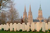 Bayeux Has The Biggest British Military Cemetery Of The Second World War With 4, 648 Graves, Site Of The June 6, 1944 D-Day Landings, Calvados (14), Normandy, France