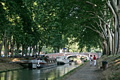 A Stroll Along The Canal Of Brienne, Toulouse, Haute-Garonne (31), France