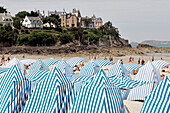 Beach Huts, Dinard, Ille-Et-Vilaine (35), France