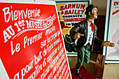 Advertising Poster, Entrance To The Museum Of The Circus, Vatan, Indre (36), France