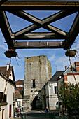 Keep Of The Old Town Gate, Menetou-Sur-Cher, Loir-Et-Cher (41), France