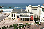 Casino Barriere In Biarritz, Art Deco Architecture, Basque Country, Basque Coast, Biarritz, Pyrenees Atlantiques, (64), France