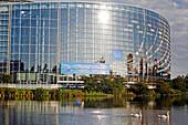 European Parliament, Strasbourg, Bas-Rhin (67), Alsace, France