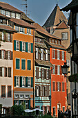 Facades Of Houses On The Ill, Petite France Neighbourhood, Strasbourg, Bas-Rhin (67)