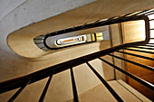 Stairwell In An Apartment Building, The Architecture Of Auguste Perret, Classed As World Heritage By Unesco, Le Havre, Seine-Maritime (76), Normandy, France