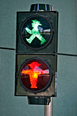 Ampelmann, Born In 1961, The Ddr'S Famous Light For Pedestrians, Was Seriously Threatened With Extinction In 1994. That'S When An Industrial Designer Had The Brilliant Idea Of Converting Them?¥ Into Red And Green Lamps. So, Five Years After Reunification,