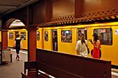 Metro Line U2, Alexanderplatz, Berlin, Germany