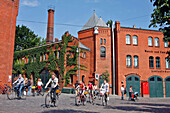 The Culture Brewery, Kulturbrauerei Founded In 1891 By Franz Schwechten, This Neo-Gothic Building, Which Produced Beer Up Until 1967, Underwent A Radical Change In Its Fermentation In 1991, With Cinemas, Restaurants And Concert Halls, Berlin, Germany