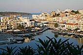 Lake Voulismeni, Agios Nikolaos, Gulf Of Mirabello, Crete, Greece Crete, Greece