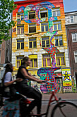 It'S Facade Covered In Colorful Graphics, Spuistraat Squat Is Now Out Of Fashion. Nonetheless, Some Of The Hard-Core Members Who Purchased Their Squat Have Made The Former Offices Of The Daily Handelsblad A Sort Of Monument-Souvenir Of This Vast Movement