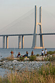 Vasco De Gama Bridge, (Ponte Vasco De Gama), Park Of Nations, Site Of The 1998 World Expo, Lisbon, Portugal