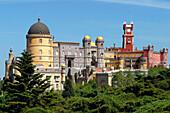 Palacio Nacional Da Pena, National Palace, Sintra, Portugal