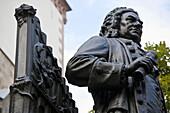 Johann Sebastian Bach monument, Leipzig, Saxony, Germany