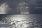 Thunder-storm over North Sea, Foehr, Schleswig-Holstein, Germany