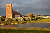 Old Church of Our Saviour, Alte Kirche, Pellworm island, Schleswig-Holstein, Germany