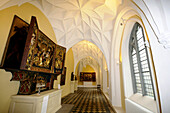 Deserted corridor at the national museum, Gdansk, Poland, Europe