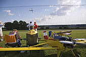 Model aircrafts, airshow, Lehrte, Lower Saxony, Germany