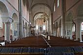 interior Stiftskirche, monastery church, Wunstorf, region Hannover, Lower Saxony, northern Germany